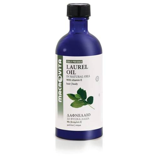 MACROVITA OLEJ LAUROWY w naturalnych olejach tłoczony na zimno z witaminą E 100ml